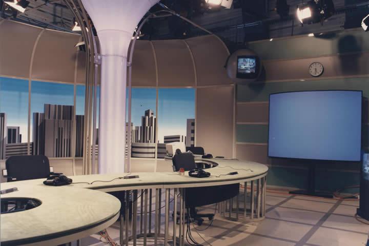 Allestimenti televisivi: studio TG3