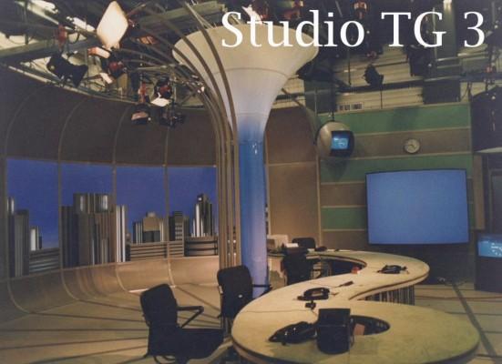 Allestimento Studio TG 3