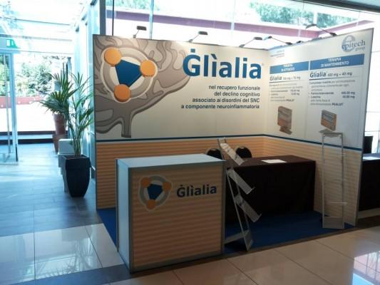 Stand personalizzato per Glìalia