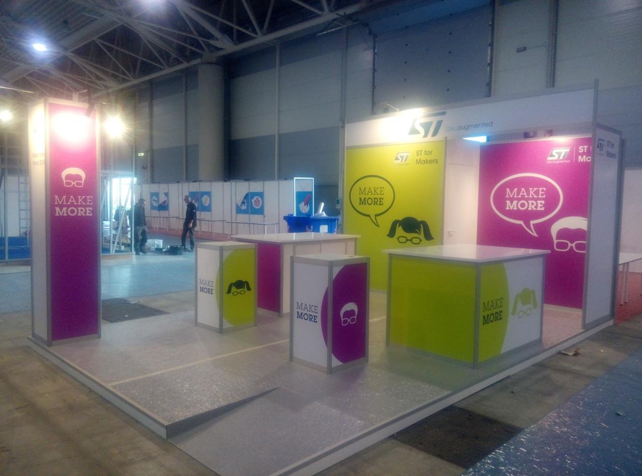 Exhibition Stand Makers In Dubai : Stand st al maker faire ar studio